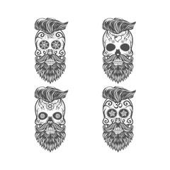 Sugar Skull Beards