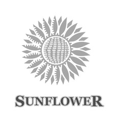 sunflower sign and the logo