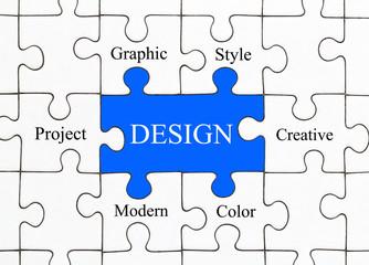 Design Puzzle Concept