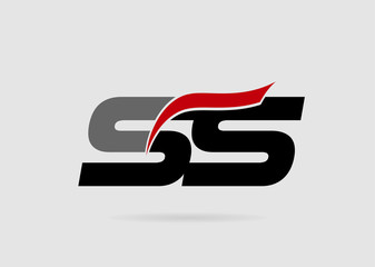 SS letters logo
