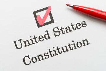 United States Constitution アメリカ合衆国憲法