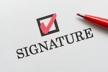 Signature 署名