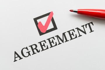 Agreement 合意