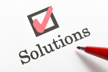 Solutions 解決策 ソリューション