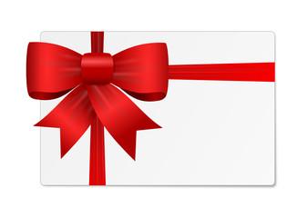 Geschenkkarte mit Schlefie