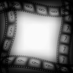Old movie films background