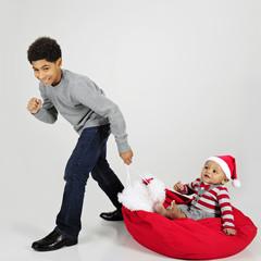 Baby's Christmas Ride