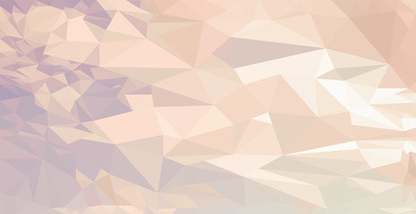 Low Poly abstract  sky