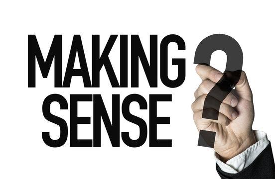 Making Sense?