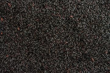 Black rice background