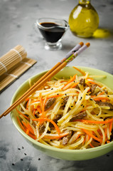 Asian food - potato salad kamdi-cha