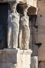 Caryatids at the Erechteion, Acropolis