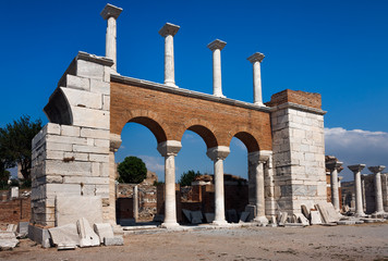 Basilica of St. John in Selcuk / Ephesus