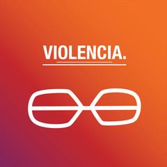 La violencia se castiga
