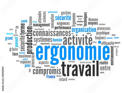 Ergonomie Santé Travail Stock Image And Royalty Free Vector