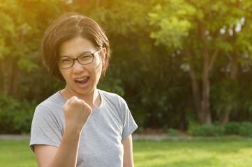Gesture success concept.