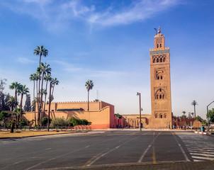 Koutubia mosque - Marakech, Morocco