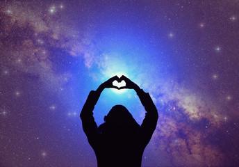 Heart-shape for the stars.