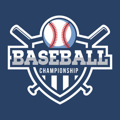 Sport Baseball Logo. American style.