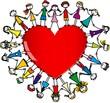 Kinder mit Herz