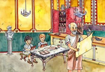 Schule in der Antike