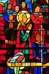 Conflans Sainte Honorine, France - april 4 2016 :church