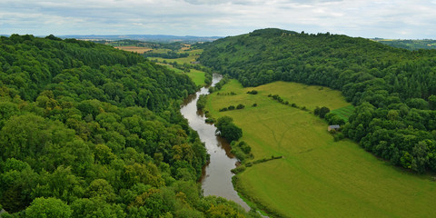 The River Wye from Symonds Yat Rock,  Forest of Dean.