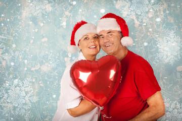 Weihnachten liebespaar