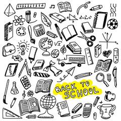 School icons sketch