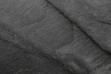 Wall Mural - black stone texture for pattern and background