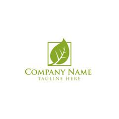 Oak,tree,leaves,gardener logo design vector