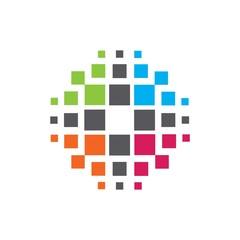 data server dots logo