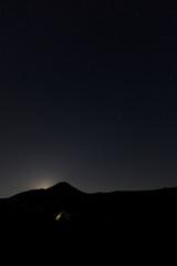 Nacht über der Vulkanlandschaft Kamtschatkas - Sibirien - Russland