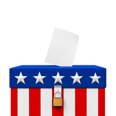 USA Ballot Box