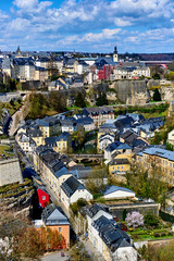 Luxembourg cityscape. Western Europe