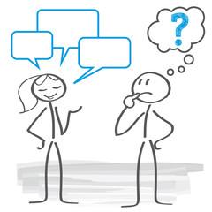 Missverständnis - kommunikationsprobleme