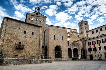 Foto op Aluminium Monument Piazza Innocenzo III Anagni (Frosinone)