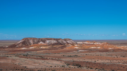 The Breakaways near the Opal mining town of Coober Pedy in outback, Australia