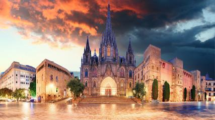 Cathedrel de Barcelona, Plaza Nova