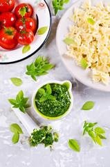 "Traditional Italian sauce ""pesto"""