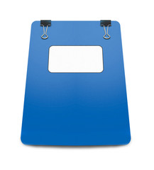 Blue Folder isolated