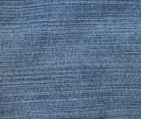 Gray and blue striped fabric texture. Jeans background.