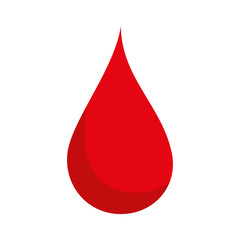 blood drop red health liquid human medicine vector illustration