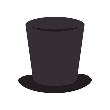 tophat hat magic elegance clothing classic vector illustration