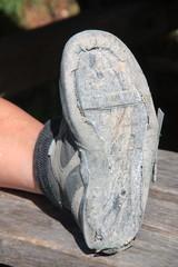 Trekking shoe broken after intensive use