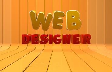 Web Designer, Internet, 3D
