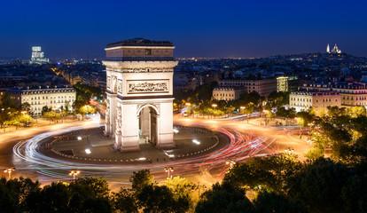 Arc de Triomphe & Sacré-Coeur