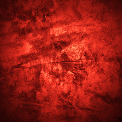 Vintage red color abstract grunge background