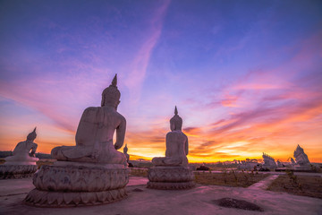 Buddha park in Thungsong Nakornsrithumrach province.Location is a vast national park of Buddhism. A large statue of Lord Buddha hundreds. Set to deploy