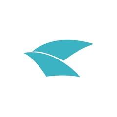 yachts logo icon vector